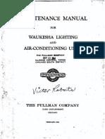 Maintenance Manual Waukesha