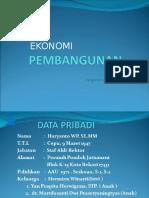 Ekonomi Pembangunan