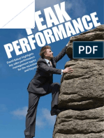 Sales Peak Performance