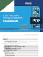 Planes Programas Area Humanístico