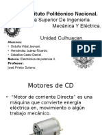 Motores de CD