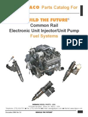 Common Rail - EUI Catalog pdf | Fuel Injection | Engine