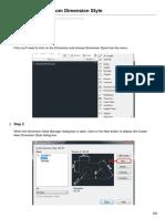 How to create a custom Dimension Style-autocad.pdf