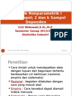 Statistik Nonparametrik I