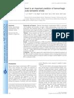 European Journal of Neurology Volume 19 Issue 4 2012 [Doi 10.1111_j.1468-1331.2011.03564.x] K.-h. Choi; M.-s. Park; J.-t. Kim; T.-s. Nam; S.-m. Choi; B.-c. -- The Serum Ferritin Level is an Importan