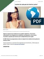 ¿Cuál es el origen del nombre de cada país de América Latina? - BBC Mundo.pdf