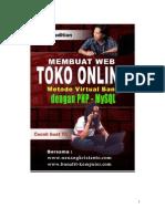 Panduan Membuat Web Toko Online - ERD dan Analisis Sistem Informasi Penjualan Berbasis Web - Model Virtual Bank