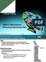 Mechanical Nonlin 13.0 WS 05B Localized Yielding
