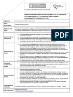 Resumen Convocatoria Ayudas Personal Tecnico ULPGC