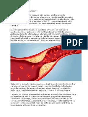 medicamente curatare vase sange