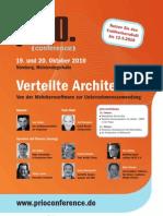 prio.conference - Verteilte Architektur