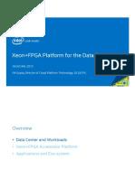 Xeon FPGA Platfrom