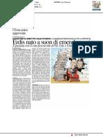 ERDIS nato a suon di emendamenti - Il Resto del Carlino del 15 febbraio 2017