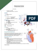 101423438 Cardiovascular System
