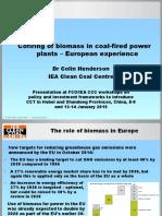 Henderson_Biomass Co-firing Europe