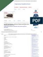 250 TOP Fluid Mechanics - Mechanical Engineering Multiple Choice
