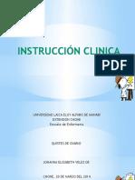 Instruccion Clinica y Charlas Educativas