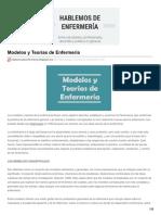 Hablemosdeenfermeria.blogspot.mx-modelos y Teorías de Enfermería
