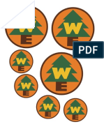 Russell Costume Badges