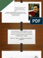 Presentasi Pembangkit Listrik Tenaga Sampah (PLTSa)
