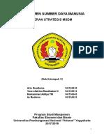 makalah peran strategis msdm - fixed
