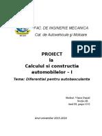 Proiect Cca1-Diferential