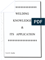 Welding Knowledge and Its Application