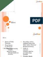 Hadoop Lecture 16 Hive Slides1 (1)