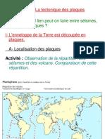 Pp Tectonique Des Plaques
