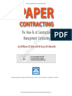Paper Contracting Book Preview