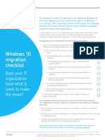 Citrix Checklist_Migrate to Windows_D2