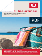 Auspost Travel Insurance PDS
