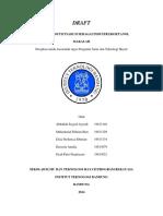 PSTH - Saccharum Officinarum (Tebu) - Draft