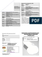 Paeds Gastrohepatology and Metabolic Diseases Flyer