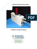 h2scan 720as-Gc Hydrogen Sensor System Manual