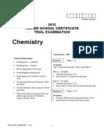 Newington 2015 Chemistry Trials & Solutions