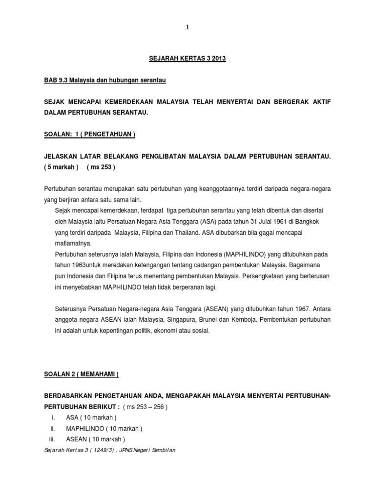 Slideshare Sejarah Kertas 3 Negeri Sembilan