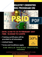 JOIN Special Training Program on P&ID