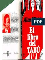 WATTS, Alan. Libro Del Tabu