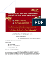 Attica Gold - Gold Jewellery Buyers - Sell Gold