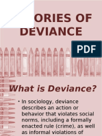 Theories of Deviance Kc