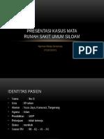 Presentasi Kasus (2) Mata RSUS