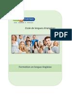 Formation Anglais (1)