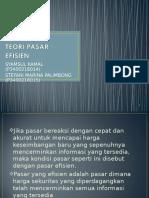 Pasar Efisien PPT
