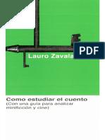 Como estudiar el cuento (Lauro Zavala).pdf