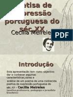 Poetisa de Expressão Portuguesa Do Séc.xx