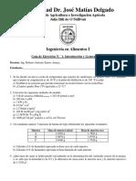 Guía de Ejercicios 1. IAL1. Ciclo 01-2017