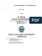 Btech Civil Engineering i to Vi