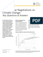 Factsheet Interational Climate Change Negotiations