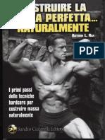 Edit.it Body Building Costruire La Bestia Perfetta Naturalmente Rea